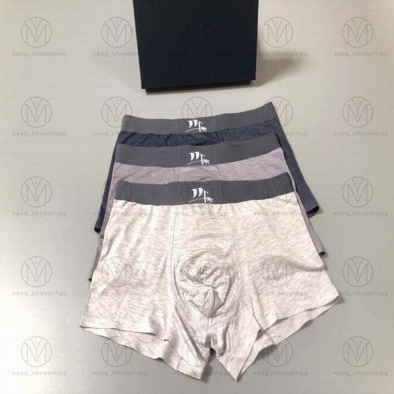 2021 Herren Designer Boxer Marken Unterhosen Klassische Männer Boxer Casual Shorts Unterwäsche Atmungsaktive Baumwolle Unterwäsche 3 Stücke mit Box