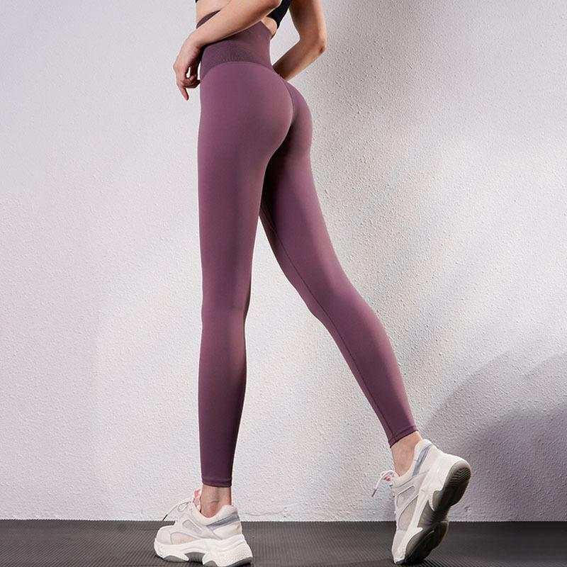 Sexy Hohe Taille Leggings Push Up Gym Fitness für Leggings Workout ActiveWear Solid Sport Leggings Femme Y0327