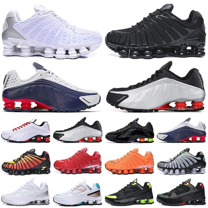 chaussures shox tl جديد وصول OG R4 الثلاثي الأسود الرجال النساء احذية الجري منصة 301 تسليم Lime Blast رجل مدرب أحذية رياضية أحذية رياضية