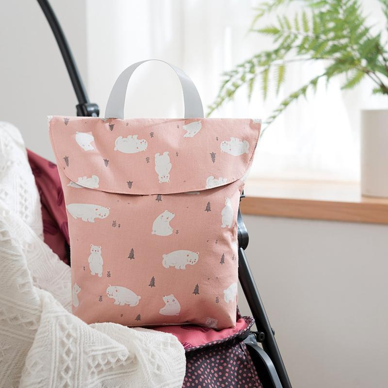 Storage Bags Baby Nappy Bag Mummy Diaper Paper Milk Bottle Wet Stroller Accessories