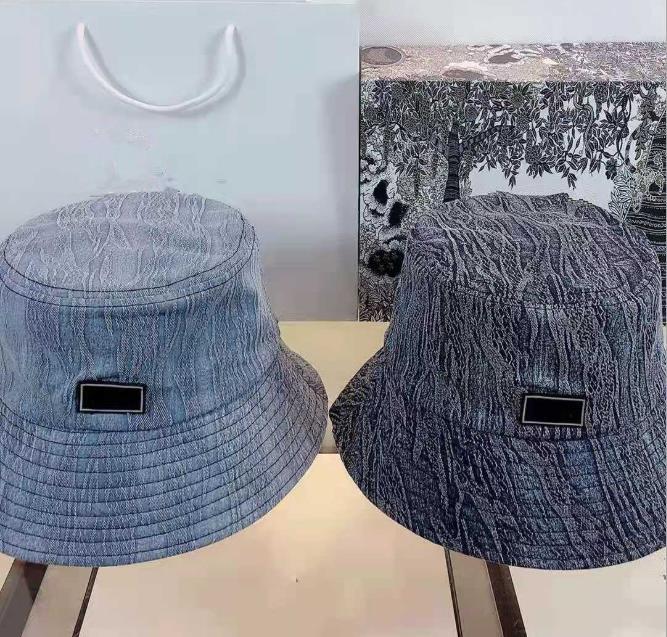 Balde chapéu Acessórios de cabelo Cap Fashion Brim Pescador Capas respirável Casual Chapéus Chapéus 9 Modelos Altamente Qualidade