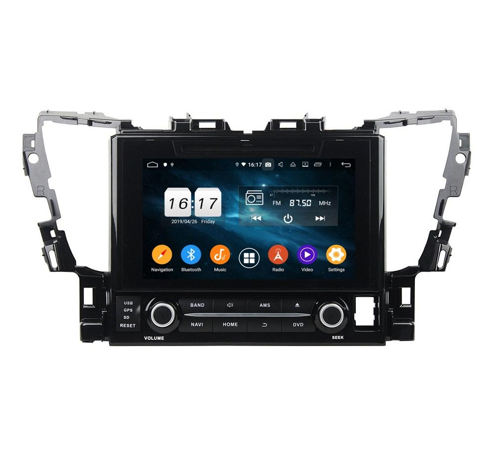 "4GB + 128GB Carplay 9 ""PX6 Android 10 자동차 DVD 플레이어 Toyota Alphard 2015-2018 DSP 스테레오 라디오 GPS 네비게이션 WiFi Bluetooth 5.0"
