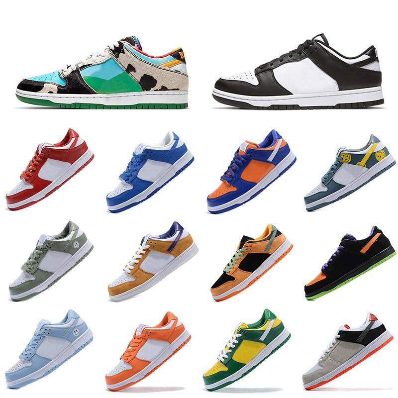 Dunk SB Low Pro Casual shoes Rahat Ayakkabılar Ayılar Turuncu Opti Sarı Yeşil Mavi Fury Erik Lazer Kadın Spor Trainer Açık Sneaker EUR 36-45