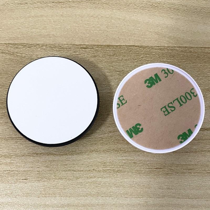 العالمي دائرة الهاتف الخليوي حامل مع الأخدود فارغة الألومنيوم التسامي إدراج ل مخصصة مخصصة قبضة قوس البنصر تصيبات