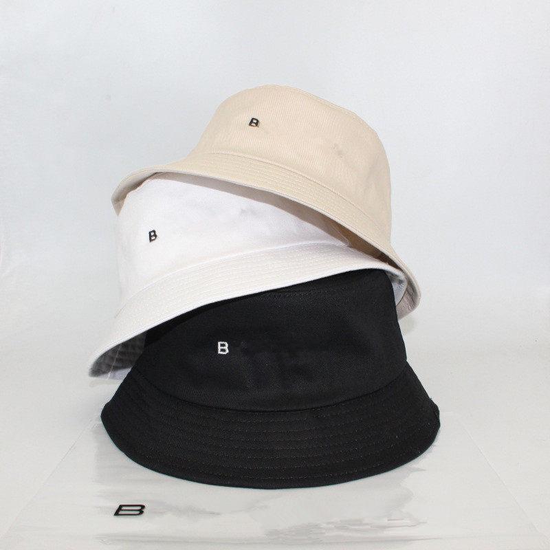 Embroidery Letter Bucket Hat Cotton Fishing Hats Summer Visor Cap Men Women Sunhat Desinger Fisherman Hats Hip Hop Caps Unisex Topee 2021
