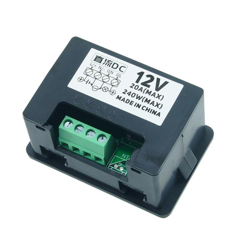Timers T2310 Normally Open Microcomputer Time Controller 12V 24V 110V 220V LED Digital Display Delay Relay Switch L93C