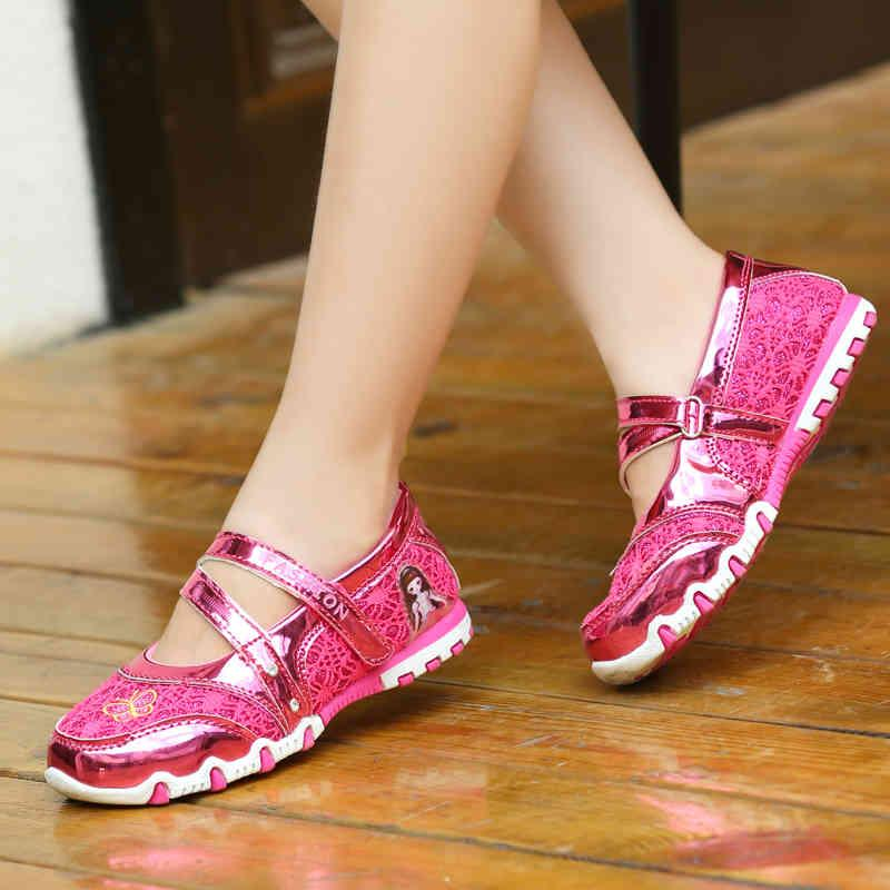 Kid Sandals Summer Girl Sports Shoes Children Sneaker Antislip Baby Soft Princess Shoe Non-Slip Baby Girl Sandals Zapatillas J0513