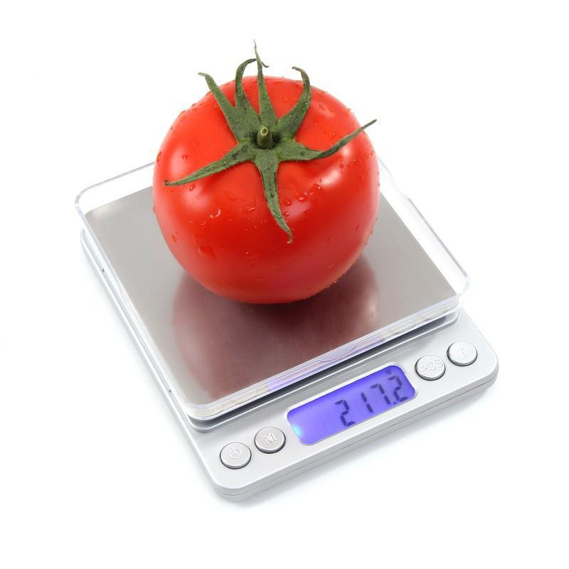 2000g/0.1g LCD Portable Mini Electronic Digital Scales Pocket Case Postal Kitchen Precision Jewelry Weight Balance Digitals Scale