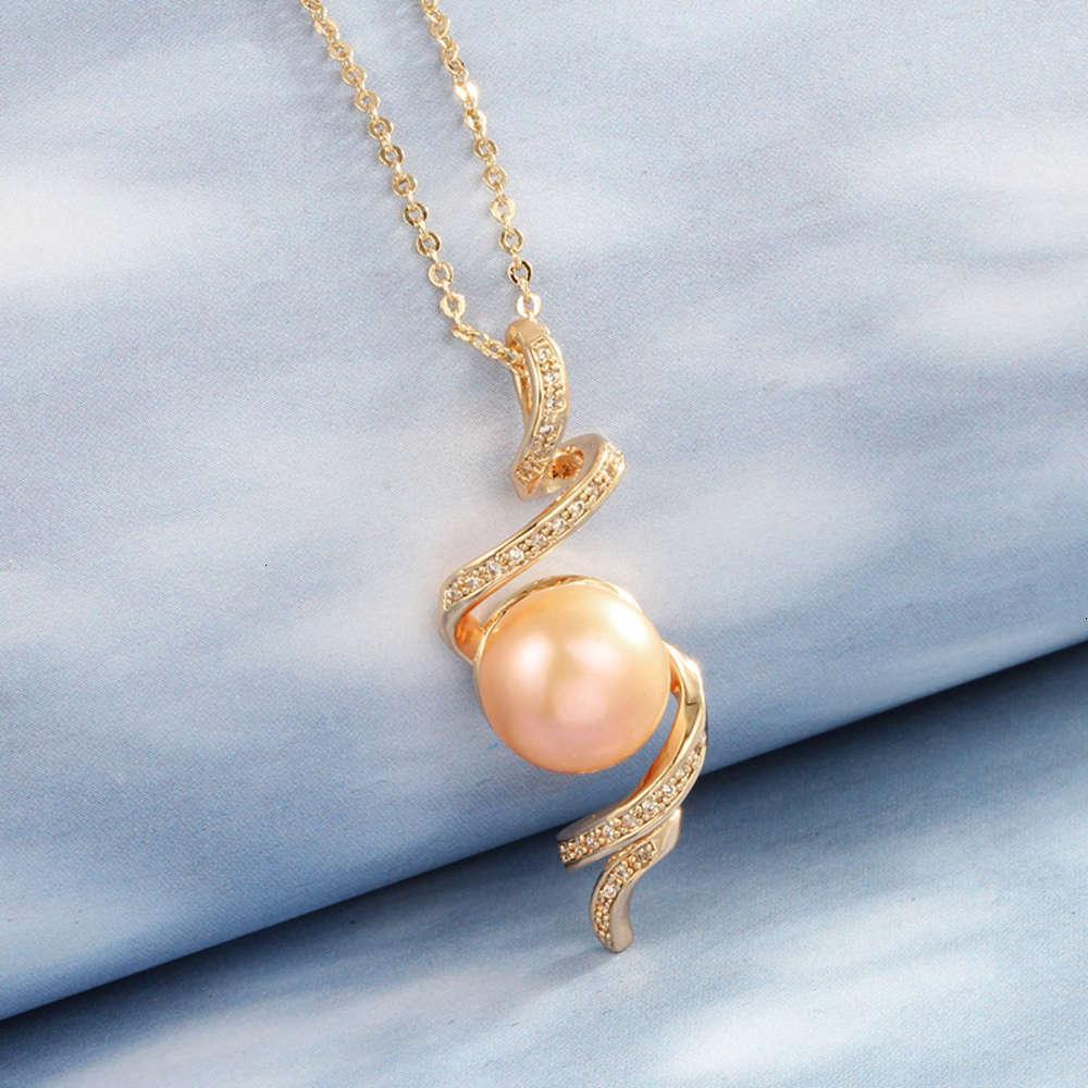 Collar Versión coreana de la hermosa perla revolvente Día de la madre Regalo de joyería Mori Cadena de clavícula de diseño creativo