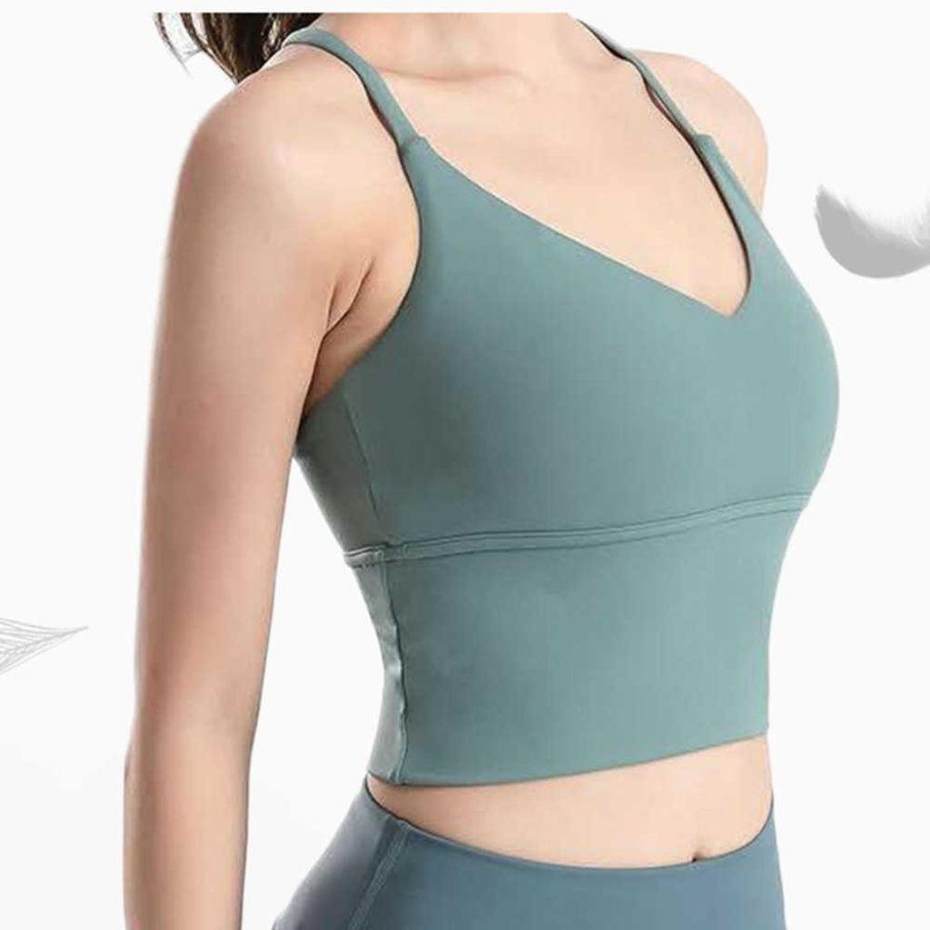 Katı Renk Yaz kadın Askı Kolları Tops Tee Bayanlar Rahat Spor İç Çamaşırı Darbeye Koşu Spor Sutyen Yoga Yelek T-shirt Giysileri G7323uz