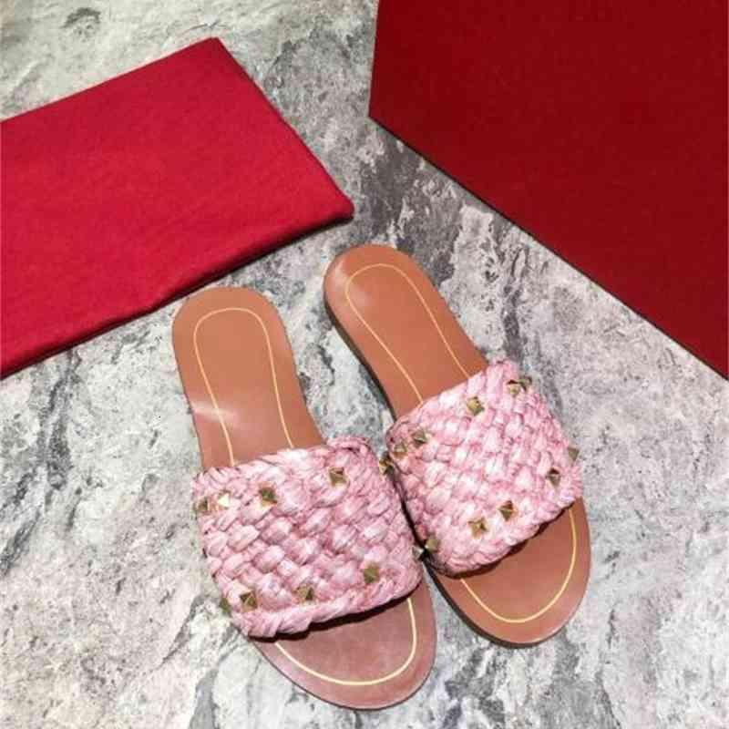 샌들 여성 리벳 슬리퍼, 여름 캔디 신발, 야외 플립 플롭, Zapatos de Mujer 브랜드 캐주얼 B5VS