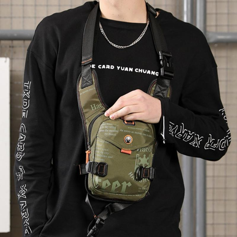 Thigh Chest Pack Riding Motorcycle Outdoor Portable Waterproof Sports Adjustable Strap Men Shoulder Bag Multifunctional Waist Bags