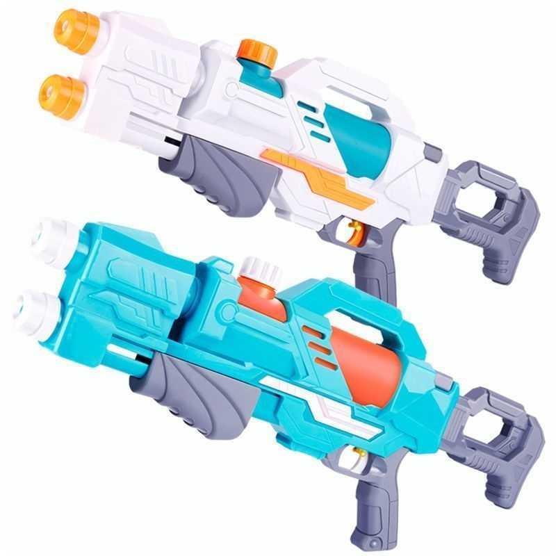 50 cm espacio pistolas de agua juguetes niños chorro de chorro para niños juegos de playa de verano piscina clásico al aire libre playa blaster pistolas portab y200728