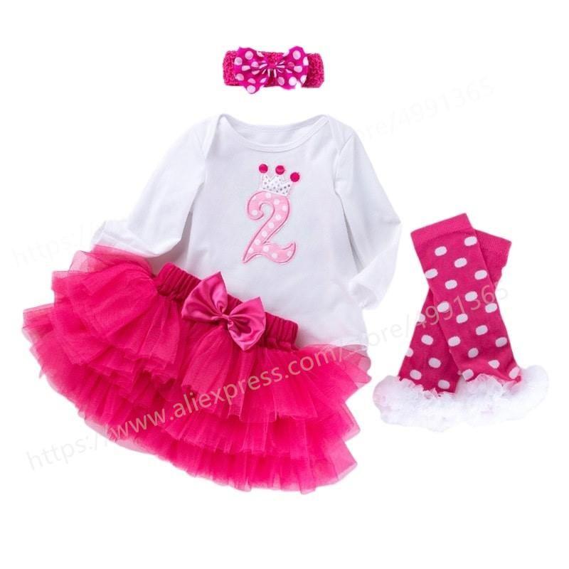 Girl's Dresses Flower Girl Dress Party Birthday Wedding Princess Toddler Baby Kids Girls Xmas Year Carnival