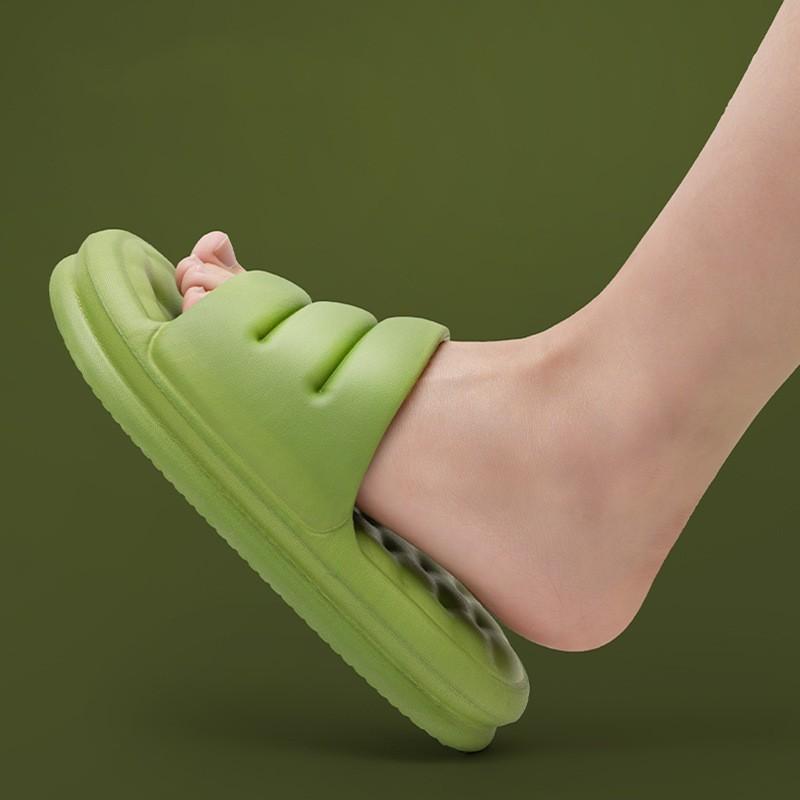 YouDiao Mute Eva Sofá Slides Mulheres Grosso Sole Soft Soft Slippers Mulheres Anti-Slip Sandálias Homens Plataforma de Verão Mulheres Sapatos Banhos 1120 Y2