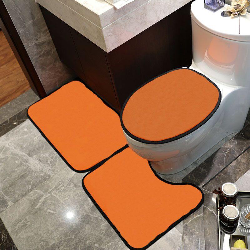 간단한 스타일 인쇄 화장실 좌석 커버 패션 미끄럼 방지 매트 고품질 홈 매트 욕실 액세서리
