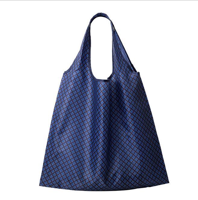 Sac à main de sac à sacs à main pliable Sacs de rangement haute capacité Polyester Créativité Protection de l'environnement Sacs à main EWB6918