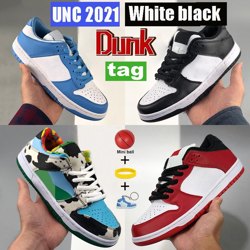 UNC 2021 Dunk Running shoes Coast white black chunky dunky Shadow Kentucky sp syracuse men women sneakers University red elephant trainers