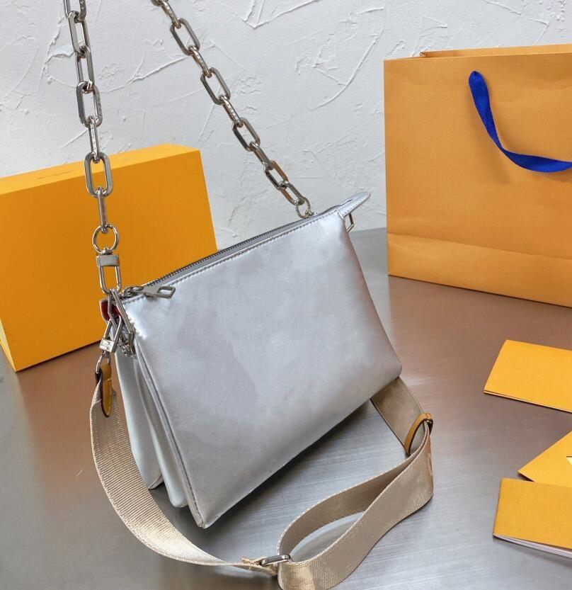 2021 Designers Luxurys Sac à bandoulière Crossbody Cous Sacs Sacs à main Fashion Femme Femmes Sacs avec boîte