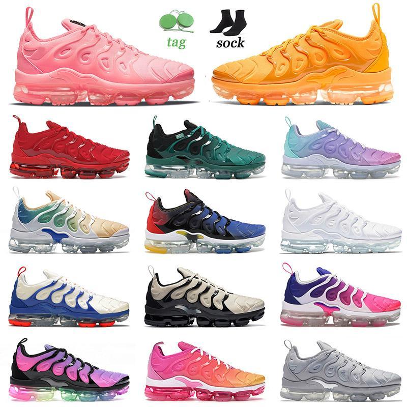 탑 패션 TN 플러스 사이즈 13 러닝 신발 남성 Womens Bubblegum University 골드 체리 애틀랜타 블랙 로얄 트레이너 스니커즈 36-47