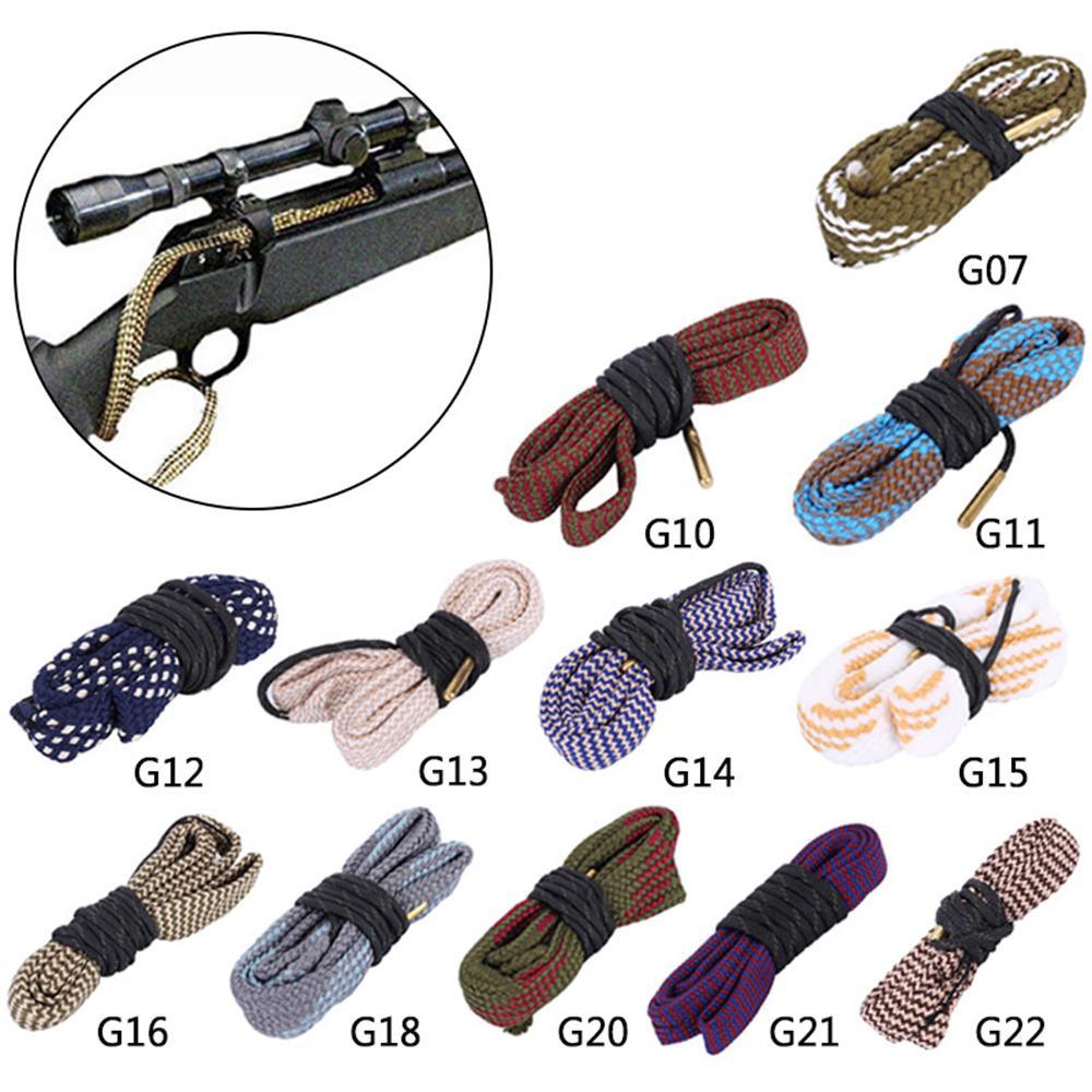 Охотничий пистолет Clean Bore Snake 20GA .35 CAL 410GA 6 мм 16Ga .50 Cal Rifle Pistol Brolrel Snake Reake Cleaner Очистка пистолета.