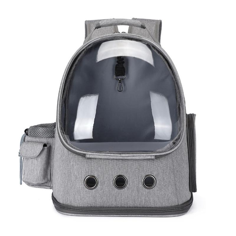 School Bags CPDD Cat Carrier Backpack Bubble Space For Small Dogs And Puppies Pet Travel Backpacks Breathable Outdoor Hiking Walking