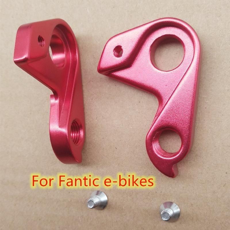 Bike Derailleurs 5PC Bicycle Derailleur Hanger For Fantic E-bikes Frame High Priority Carbon MECH Dropout Extender