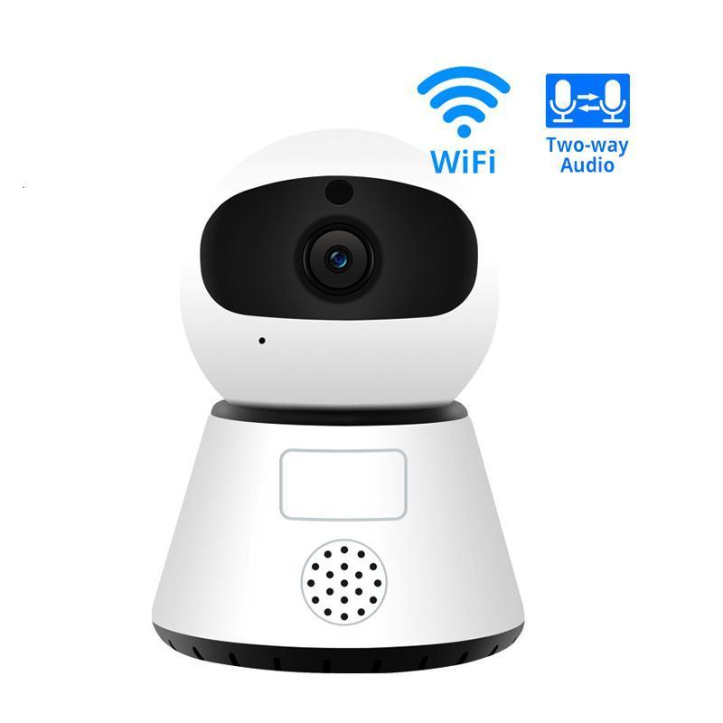 Cámaras 720 / 1080p PTZ Inalámbrica Mini cámara IP Movimiento Detección Infrarrojo Visión nocturna Inicio Seguridad Vigilancia WiFi Nube Service