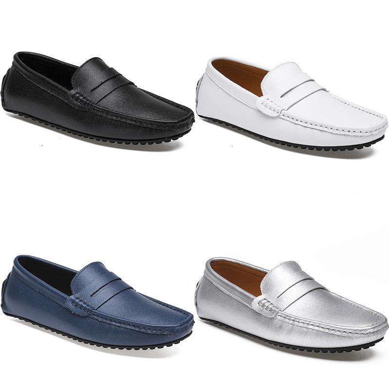 2021 الرجال عارضة الأحذية espadrilles سهلة ثلاثية أسود أبيض براون النبيذ الفضة الأحمر الكستناء رجل أحذية رياضية Type103