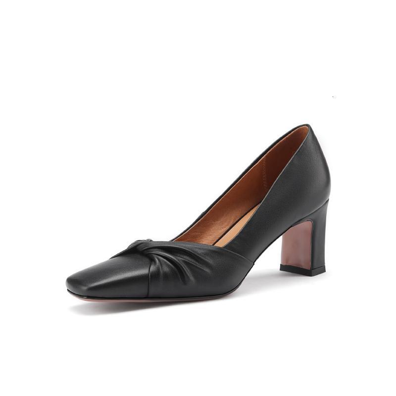 Ayakkabı Asumer Boyutu Büyük 43 Bahar Kalite Bkz. Tek Ayaklı Sığ Kare Ayak Yüksek Topuklu Zarif Kadın Düğün Ayakkabı