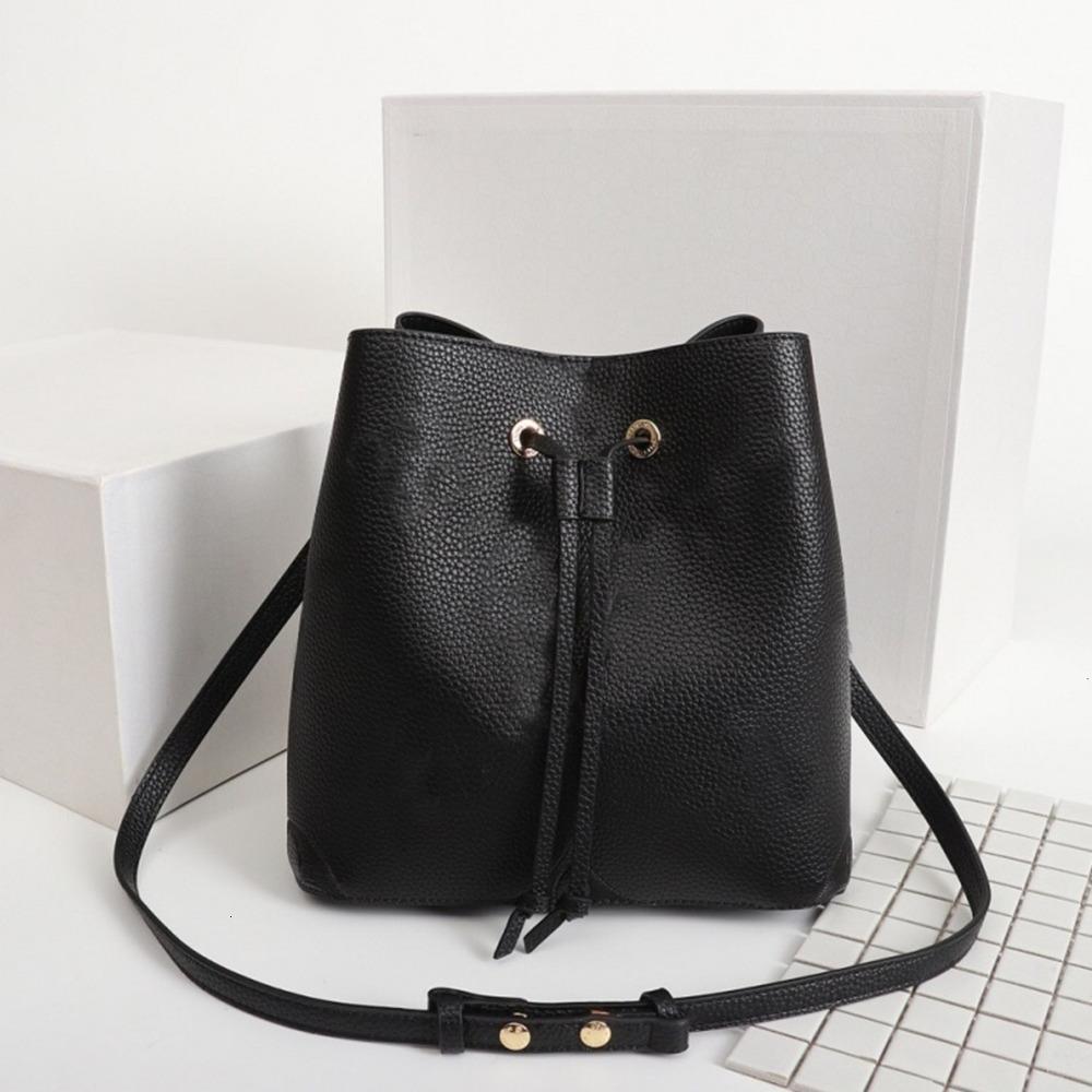 Orijinal Yüksek Qaulity Omuz Çantaları Moda Çanta Çantalar Neonoe Kova Çanta Kadın Klasik Stil Hakiki Deri