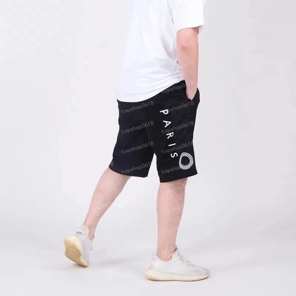 2021 Moda Erkek Tasarımcı Şort Yüksek Sokak Rahat Kısa Pantolon Erkekler için Mektup Baskılı Rahat Hip Hop Streetwear Stil