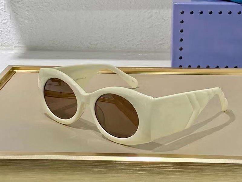 0810 Fildişi Kahverengi Güneş Gözlüğü Güç Moda Büyük Güneş Gözlükleri UV400 Koruma Gözlük Kutusu Ile
