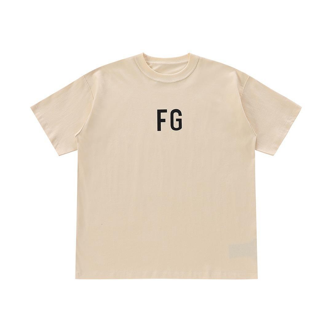 Angst vor 21ss Gott Fog FG Saison 6 High Street Hip Hop Loose Kurzarm T-Shirt
