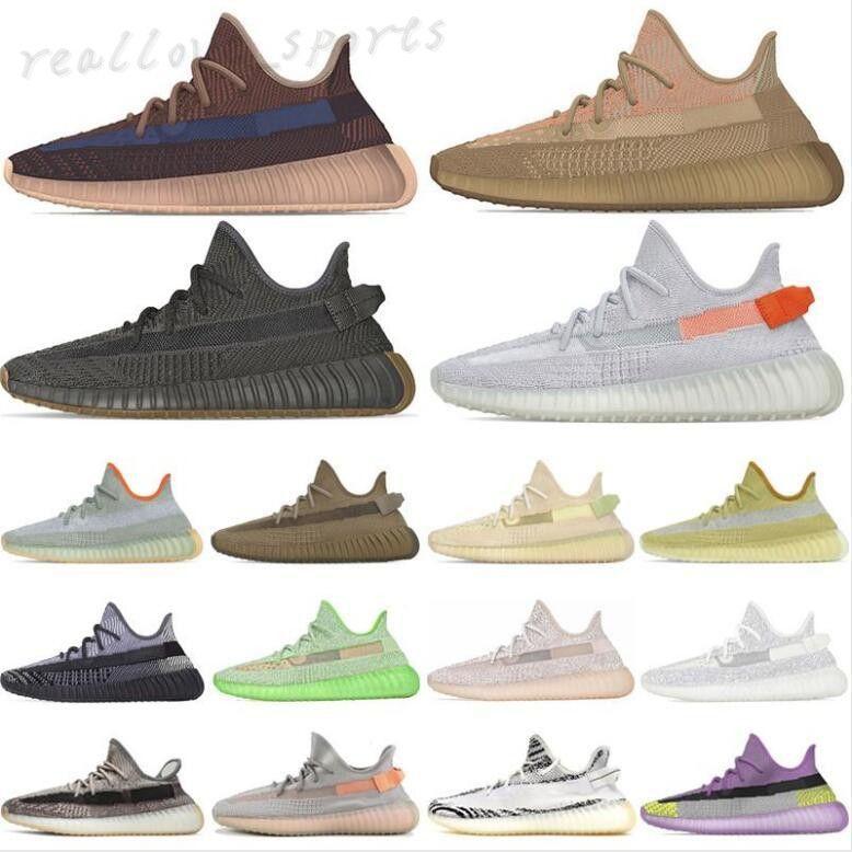 2022 zapatos deportivos sesamo reflexivo sésamo de mantequilla semi crema amarillo blanco congelado negro cebra hombres mujeres zapatillas 36-47 TA01
