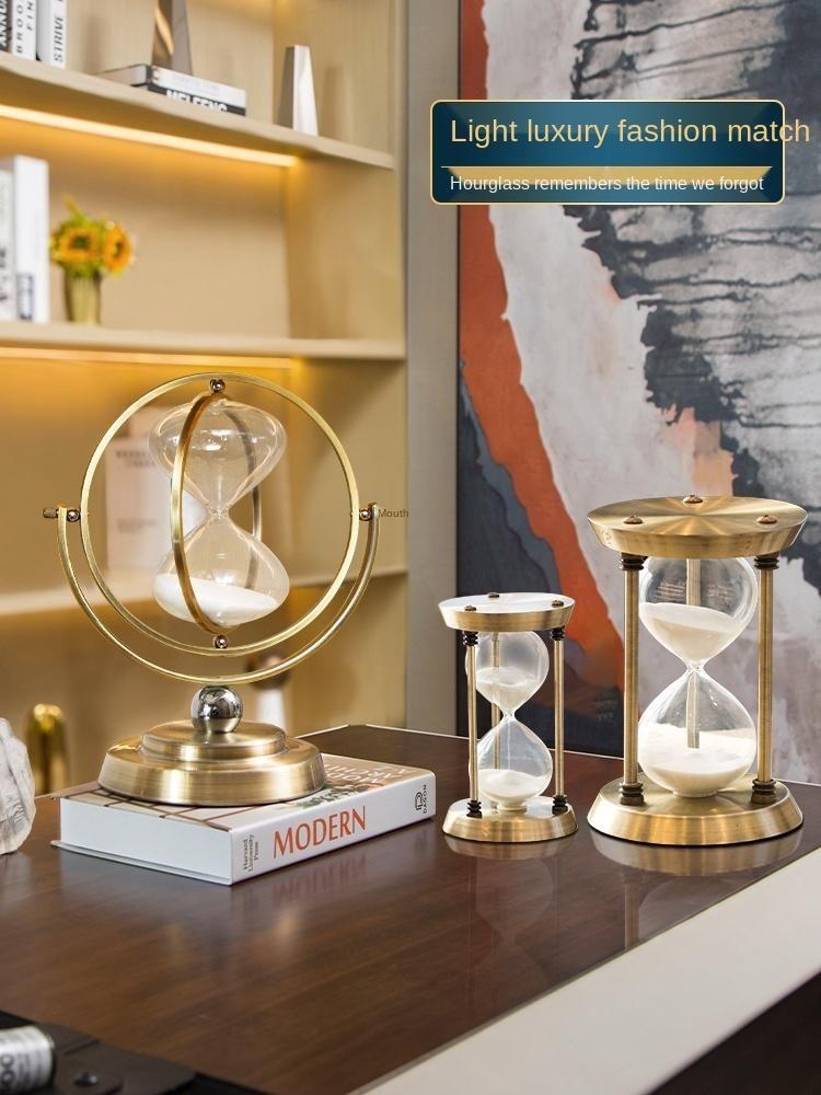 Andere Uhren Zubehör Sanduhr Sand Timer 15 Minuten 30 Restaurant Küche Kochen Kaffee Timing Werkzeug Büro Desktop Möbelartikel