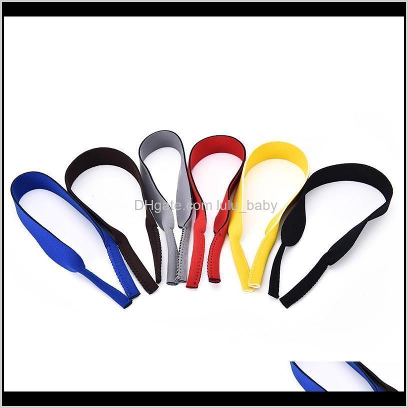 Accessoires Hohe Qualität Outdoor Spectacle Gläser Stretchy Sports Band Strap Gürtelschnur Halter Neopren Sonnenbrille Brillen IX4CB H8JIB