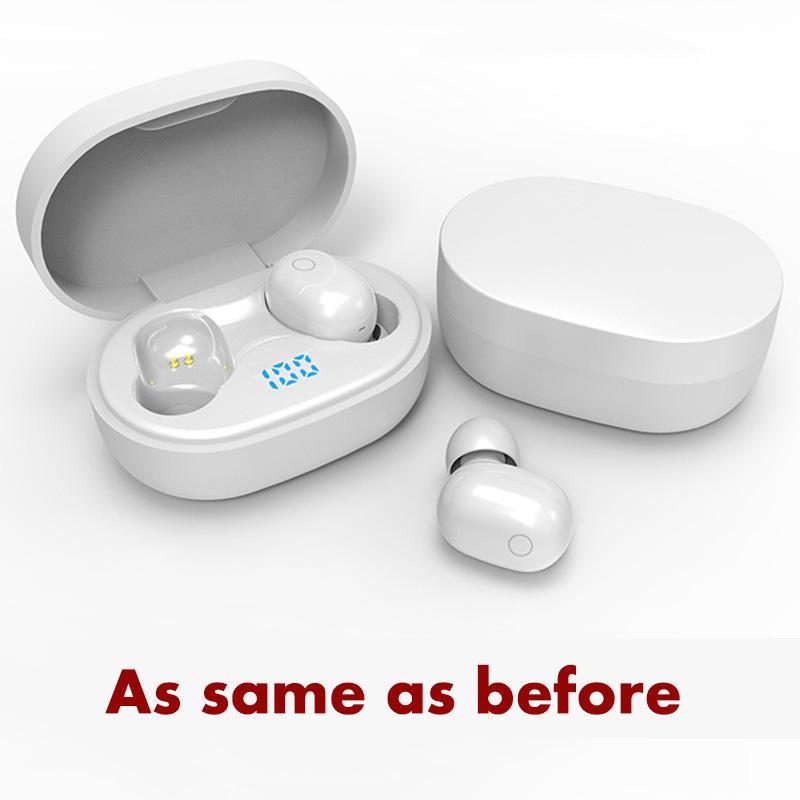 Drahtlose Ladeöhe Ohrhörer Ohrhörer Chip Transparenz Metall Umbenennen GPS Bluetooth Kopfhörer Kopfhörer Erzeugung 2 3 In-Ear-Erkennung für Handy weiß