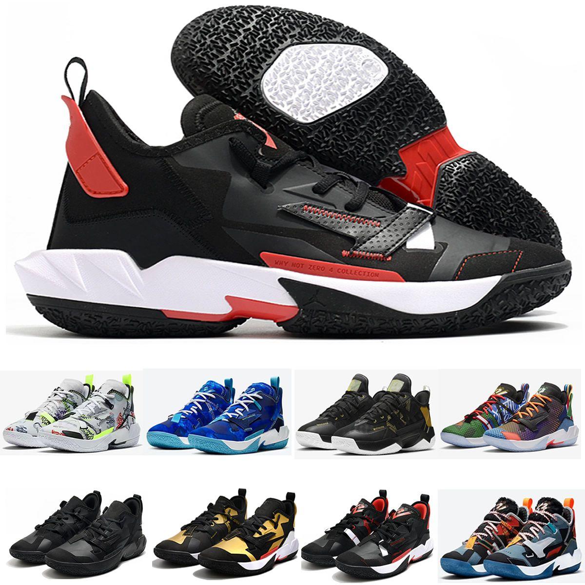 En Yeni Russell Neden Zer0.4 Westbrook Basketbol Ayakkabıları IV 4S 4th, Michigan Zero.4 Sıfır 0.4 Erkekler Mavi Spor Ayakkabı US 7-12