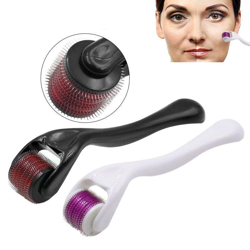 540 Microneedle Roller Micro Needles Machine för ansikte och kroppshudverktyg