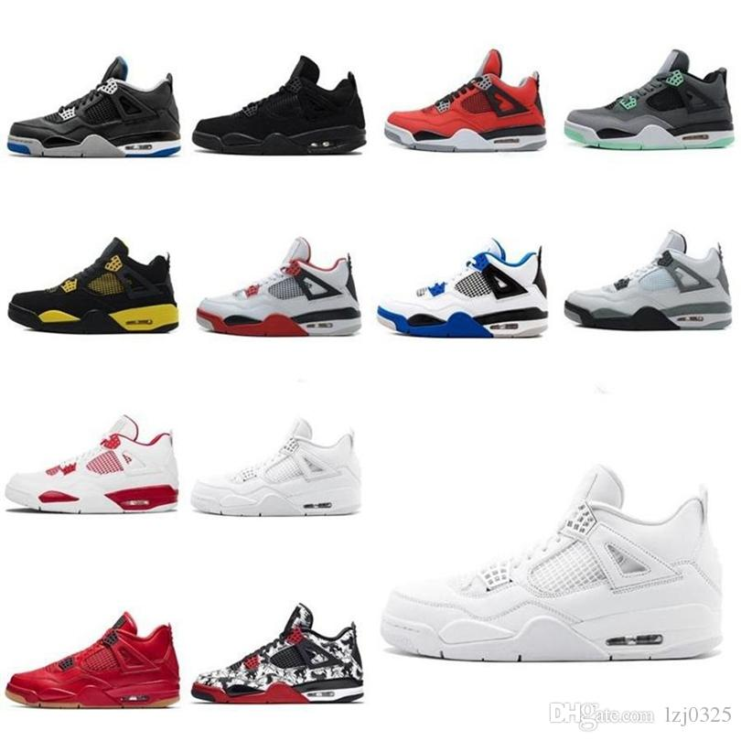 Nike Jordan Air Retro 1 11s BOOTS Travis Scotts Obsidian sin miedo lo que los zapatos de baloncesto para hombre Black Cat Bred 4 Sneakers 40-46 DHX-H156
