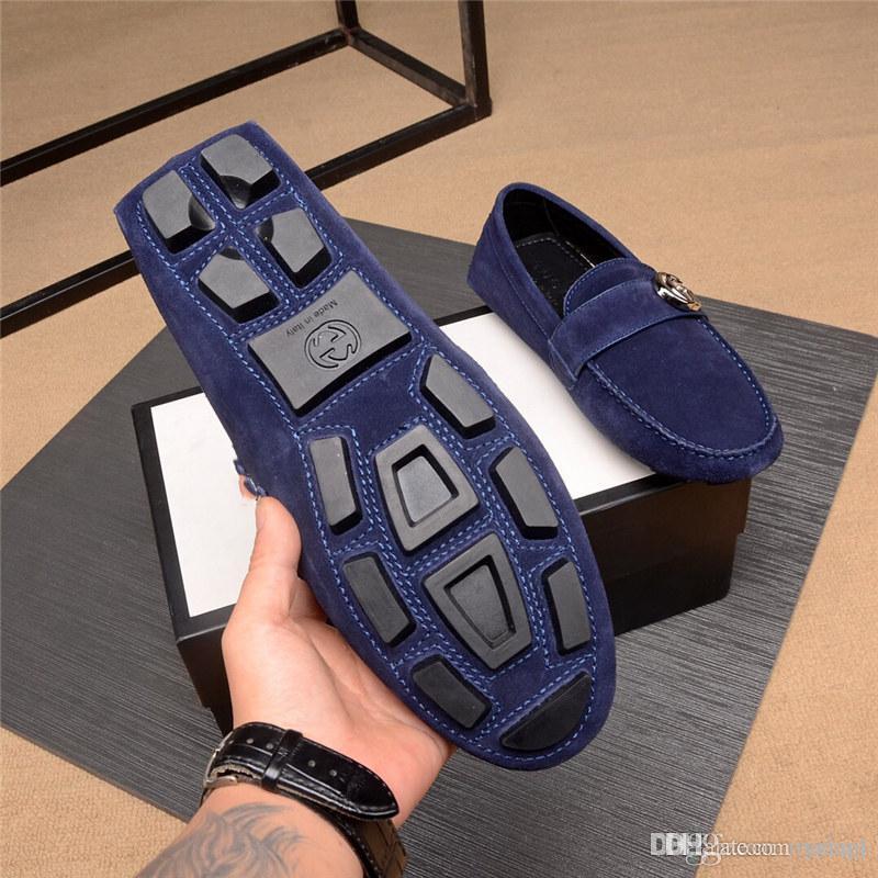 Q4 레트로 로퍼 정품 가죽 남성 캐주얼 신발 패션 디자이너 운전 플랫 클래식 레저 로퍼 수제 신발 남성 22