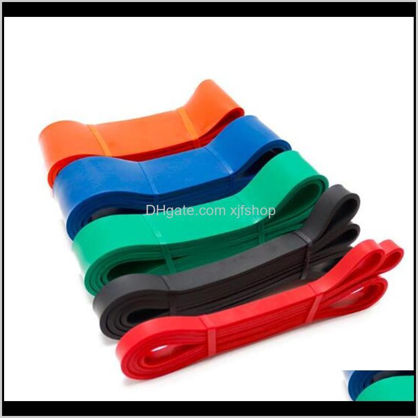 Supplies Sports Outdoors Drop Delivery 2021 Multifunction 2080Mm Belts Elastic Resistance Loop Bands Yoga Toughness Stretch Band For Gym Home