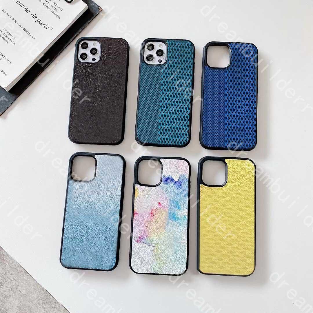 Custodie per telefono di modo un pezzo per iPhone 12 Pro Max 11 XR x XS XSMax Designer Shell Curve Models