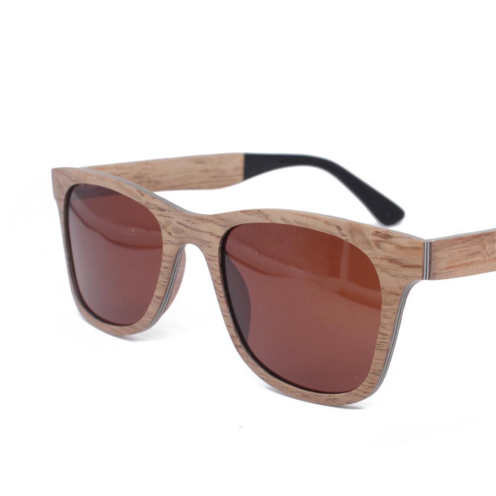 Физические стрелковые солнцезащитные очки здравоохранение охраны окружающей среды Деревянные удобные очки личности модные коробки для мужчин и женщин