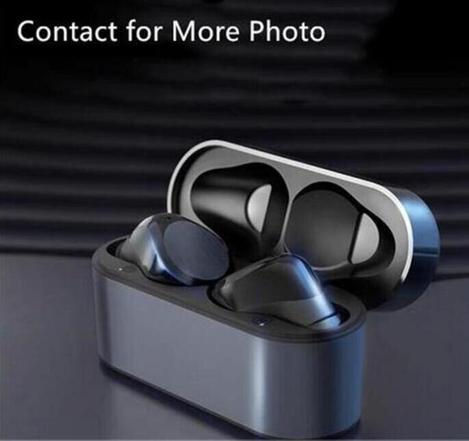 Wirless سماعات سماعات رقاقة الشفافية المعادن إعادة تسمية GPS لاسلكي شحن سماعات بلوتوث جيل في الأذن الكشف عن الهاتف الخليوي أعلى جودة
