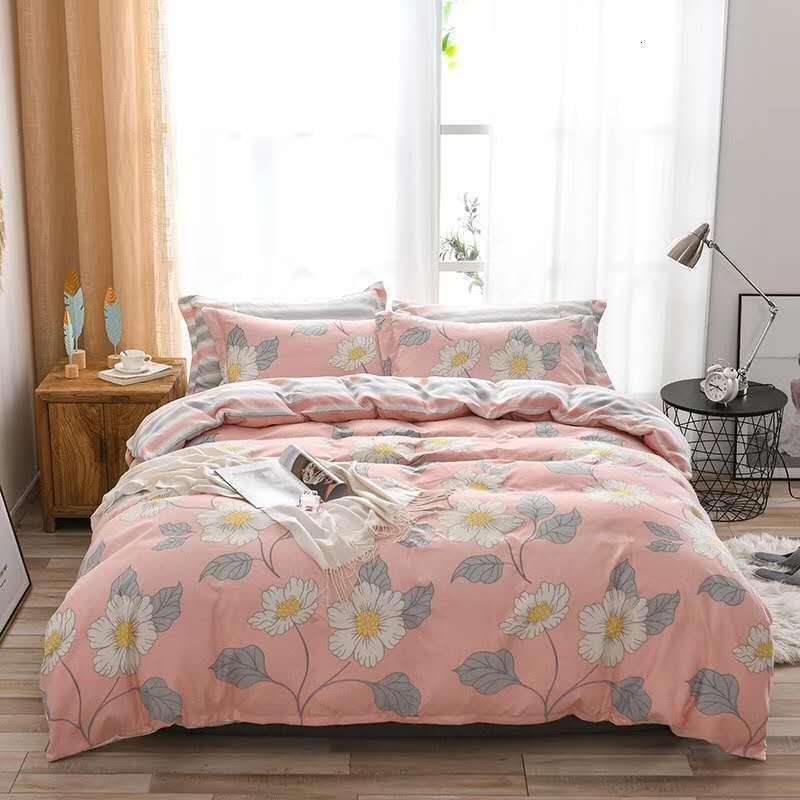 Nantong Home Textile Plant Cashmere Four Student Three Piece Set 1.5m 1.8m 2m