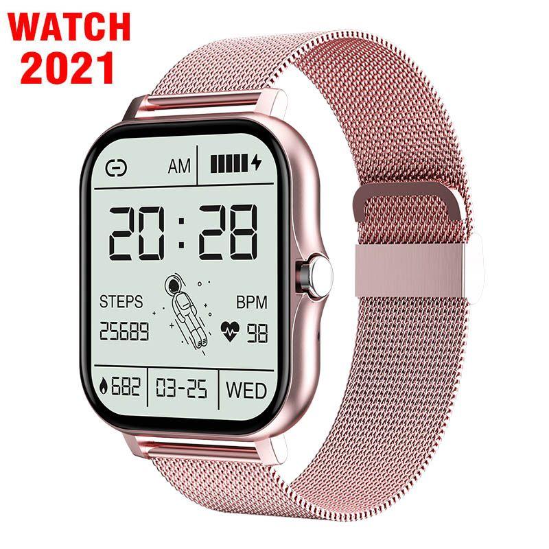 2021 GT20 GT20 Smart Watch Men Donne Touch Bluetooth Chiamata Chiamata personalizzata Dial Sport Orologio Cuore Fitness Tracker Braccialetto da polso PK W66 W26 Plus IWO 13 Pro SmartWatch