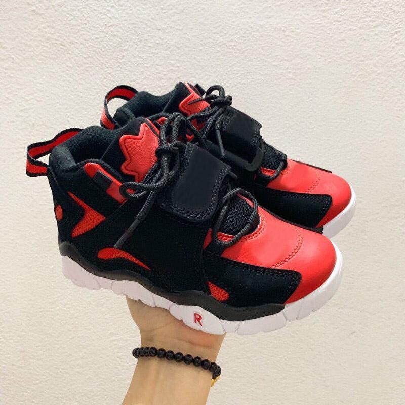 Scottie Pippen 2 sapatos crianças menino menina garoto juvenil esportes de basquete skate tamanho EUR28-35