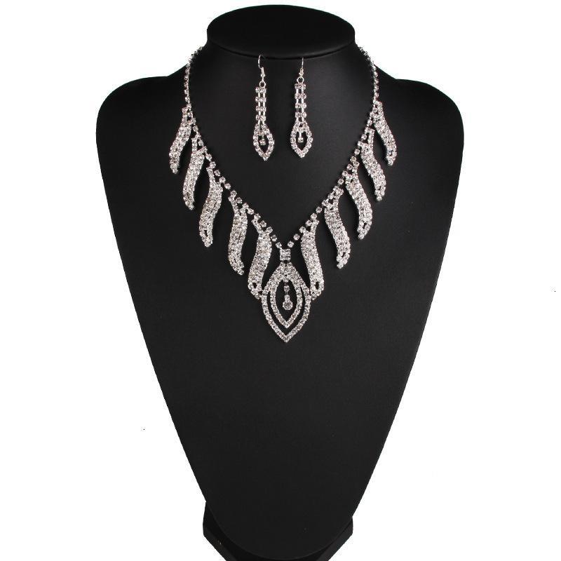 MS Ожерелье Платье Высокое Свадьба Конец Свадебные Ожерелье Банкет Роскошные Аксессуары